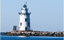 Old Saybrook CT lighthouse