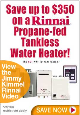 Rinnai Hot Water Heaters