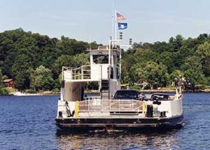 The Chester Hadlyme Ferry