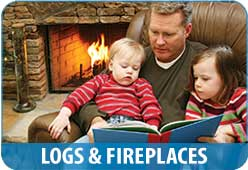 Propane Logs and Fireplaces