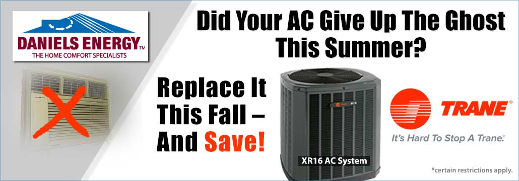 Trane Air Conditioning Offer