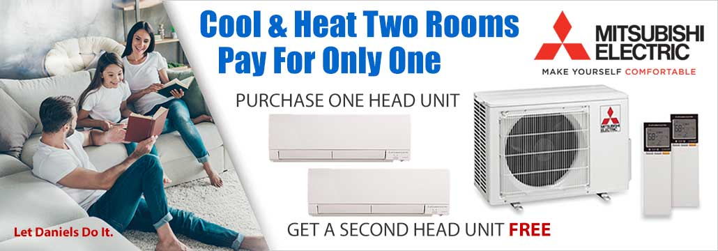 Mitsubishi Electric heating and cooling