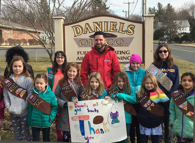 Portland CT Girl Scouts