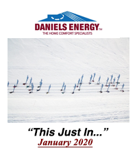 #63. Daniels Energy - This Just In - January 2020