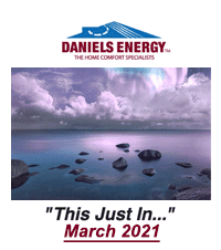 #77. Daniels Energy - This Just In - March 2021